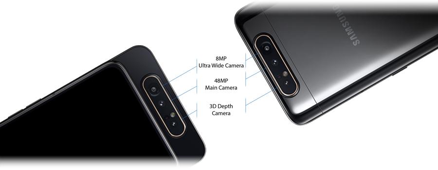 گوشی سامسونگ A80 ظرفیت 128گیگابایت