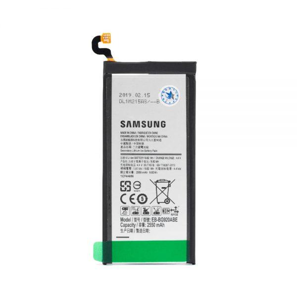 باتری اورجینال سامسونگ Galaxy S6 G920 با ظرفیت 2550mAh