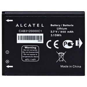 باتری اورجینال آلکاتل OT 800 با ظرفیت 850mAh