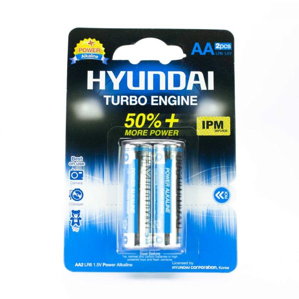 باتری قلمی HYUNDAI مدل TURBO ENGINE