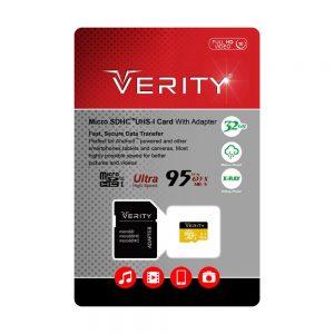مموری میکرو اس دی 32 گیگ وریتی Verity Micro SDHC