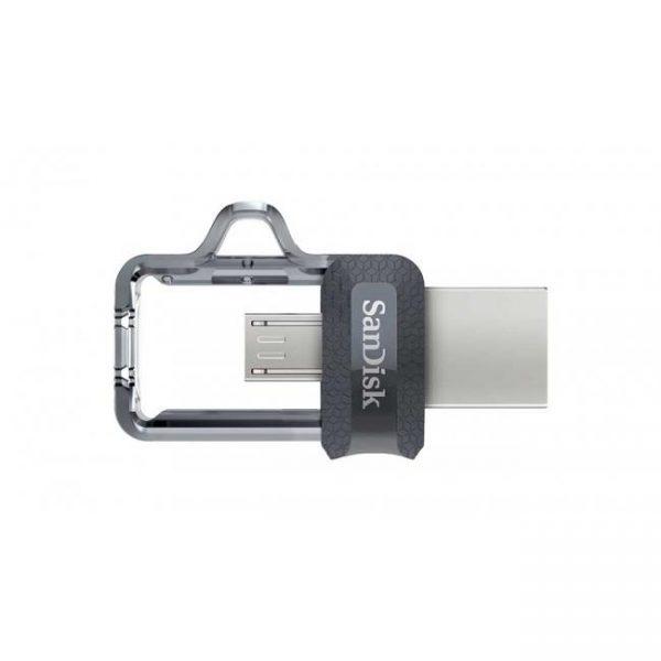 فلش سن دیسک مدل Ultra Dual Drive M3.0 ظرفیت 32 گیگابایت