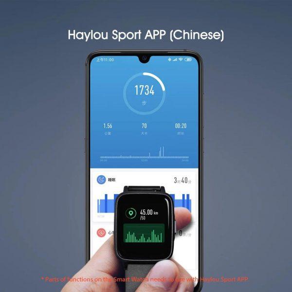 قیمت ساعت هوشمند شیائومی Xiaomi Haylou LS01 Smart Watch - گلوبال