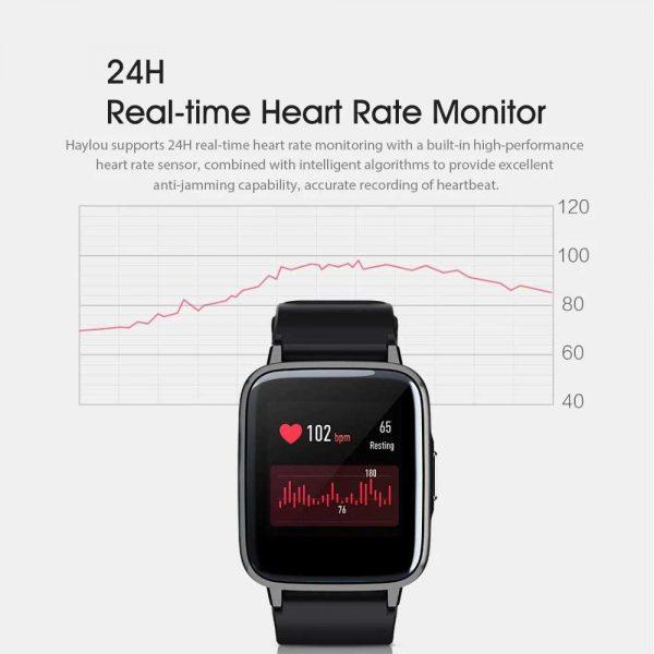 خرید ساعت هوشمند شیائومی Xiaomi Haylou LS01 Smart Watch - گلوبال