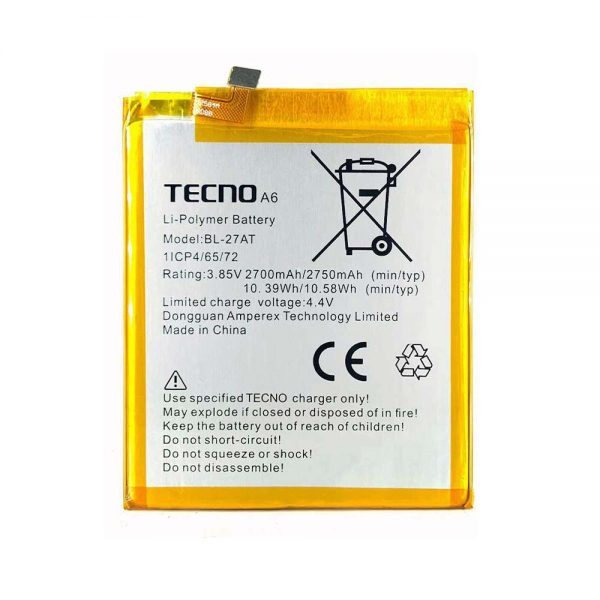 خرید باتری تکنو Tecno Phantom 6