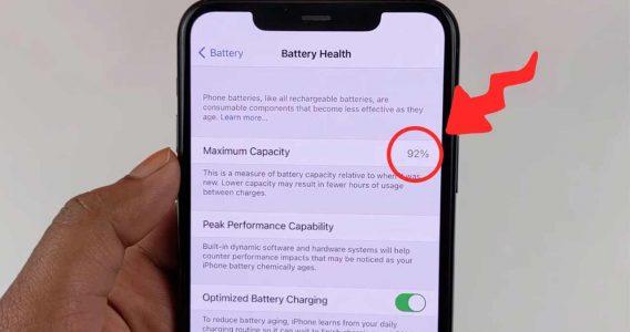 چرا سلامت باتری آیفون کم می شود؟